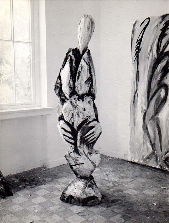 Zeichnungen und Holzplastiken 1981/82. Kunstpreis der Stadt: Rennertz, Karl Manfred: