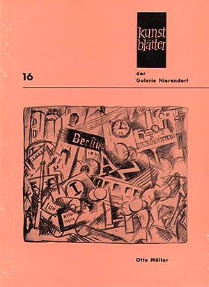 Kunstblätter der Galerie Nierendorf Nummer 16.: Moeller, Otto: