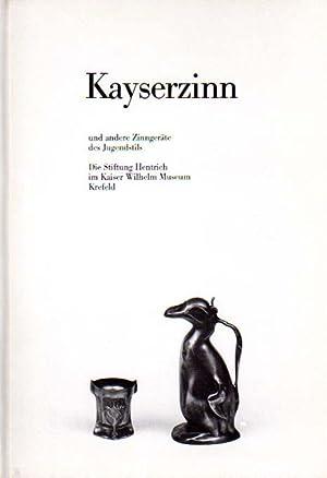 Kayserzinn und andere Zinngeräte des Jugendstils. Die