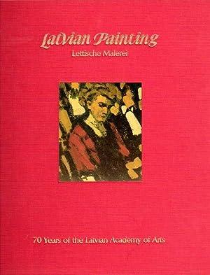Latvian Painting. Lettische Malerei. Zusammengestellt von Jeane