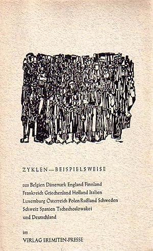 Zyklen - Beispielsweise. Herausgegeben von V. O. Stomps.: Stomps, V. O. [Herausgeber]:
