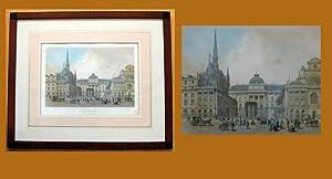 Palais de Justice. Darade sur le Boulevard de Sebastopol. Paris dans la Splendeur. Ph. Benoist del....