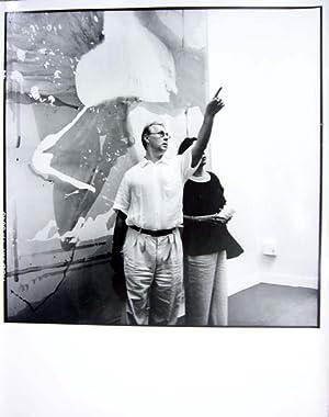Sigmar Polke auf der Biennale Venedig 1993.: Polke, Sigmar - Erika Kiffl: