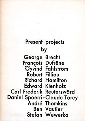 Present Projects / Aktuella arbeten. [Present Projects by / Aktuella arbeten av Brecht, ...