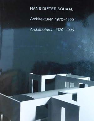 Architekturen / Architectures 1970 - 1990. [Ausstellung in der Galerie der Stadt Stuttgart &#...