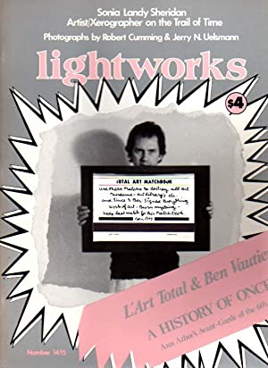 lightworks. illuminating new & experimental art. Number 10, Fall 1978 - Number 19, Winter 1988/89.