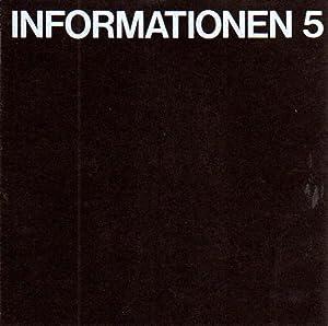 Informationen 5. Kunstverrein Bremerhaven. Redaktion: Manfred Ernst, Jürgen Wesseler.: Richter...
