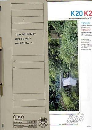 """Damage Report 1 & 2. Dokumentation der Ausstellung """"Parcours Interdit"""", 15.06.08 - ..."""