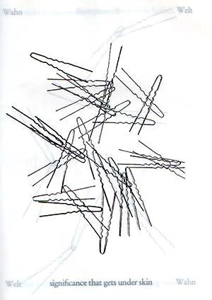 Nadel Buch. the hairpins from under my bed.: Schäuffelen, Konrad Balder: