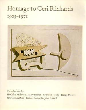 Homage to Ceri Richards 1903 - 1971.: Richards, Ceri: