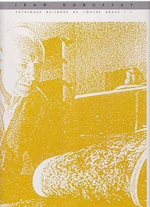L'Oeuvre Grave et les Livres Illustres par: Dubuffet, Jean -