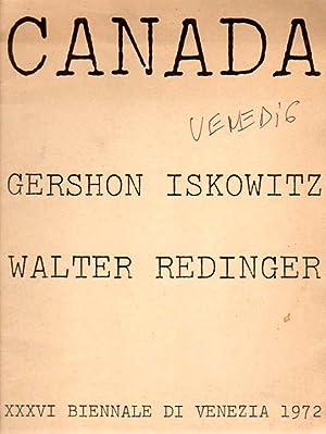 Canada. Gershon Iskowitz / Walter Redinger. XXXVI International Biennial Exhibition of Art, ...