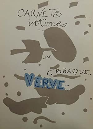 Carnets intimes de G. Braque / The intimate Sketchbooks of G. Braque. Texts by Will Grohmann ...