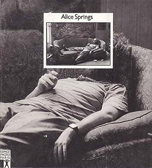 Alice Springs Portraits.: Springs, Alice -