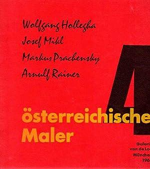 4 österreichische Maler. Wolfgang Hollegha - Josef