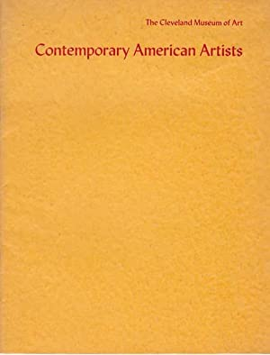 Contemporary American Artists. Walter Darby Bannard, Gene