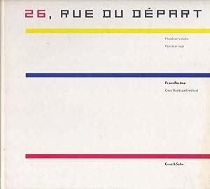 26, Rue du Depart. Mondrian's Studio.: Mondrian, Piet -