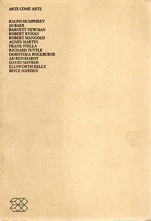 Arte come arte. Ralph Humphrey - Jo