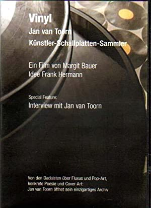 Vinyl. Jan van Toorn. Künstler-Schallplatten-Sammler.: Bauer, Margit: