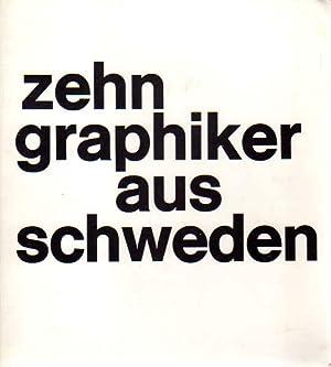 Zehn Graphiker aus Schweden. Eine Ausstellung veranstaltet