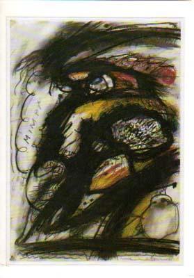 Arnulf Rainer. [Einladung / Invitation Card] Galerie: Rainer, Arnulf: