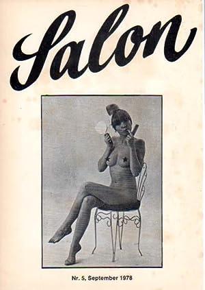 Salon Nr. 5, September 1978. [Herausgegeben von]