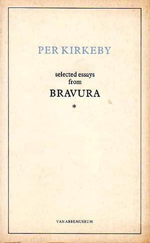 Selected essays from Bavura.: Kirkeby, Per: