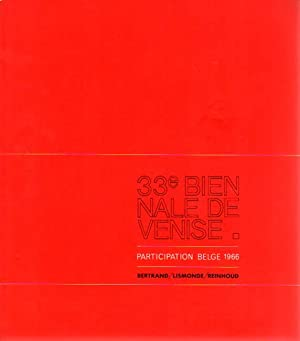 33e Biennale de Venise. Participation Belge 1966.