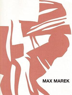 Papierschnitte & Siebdrucke.: Marek , Max: