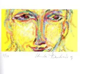 """Gesichter. Zwanzig digitale Zeichnungen zur Ausstellung """"Farbige Objekte und Zeichnungen""""..."""