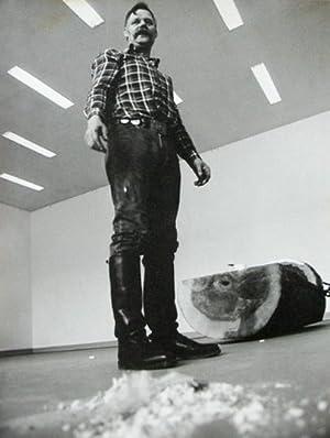 Anatol. [Originalfotografie - Vergrößerung]. Kunsthalle Düsseldorf.: Bohnen, ...