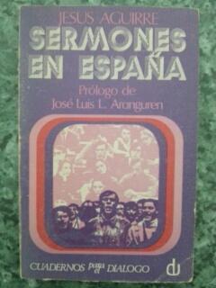 SERMONES EN ESPAÑA: Jesus Aguirre