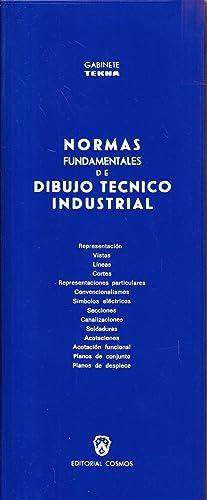 NORMAS FUNDAMENTALES DE DIBUJO TECNICO INDUSTRIAL: Gabinete TEKNA