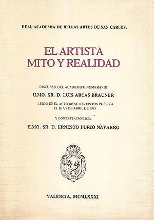EL ARTISTA, MITO Y REALIDAD: D. Luis Arcas Brauner - D. Ernesto Furio Navarro