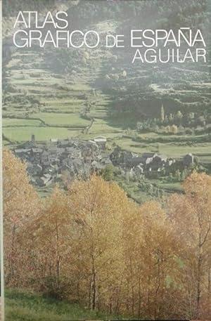 ATLAS GRAFICO DE ESPAÑA AGUILAR