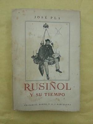 RUSIÑOL Y SU TIEMPO: Jose Pla