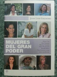 MUJERES DEL GRAN PODER: Juan Luis Galiancho