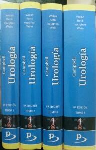 CAMPBELL - UROLOGIA - 4 TOMOS: Campbell - Walsh - Retik - Vaughan - Wein