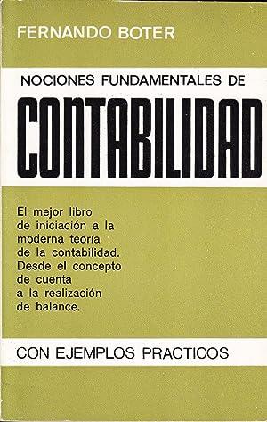 NOCIONES FUNDAMENTALES DE CONTABILIDAD: Fernando Boter