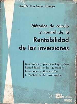 METODOS DE CALCULO Y CONTROL DE LA: Andres Fernandez Romero