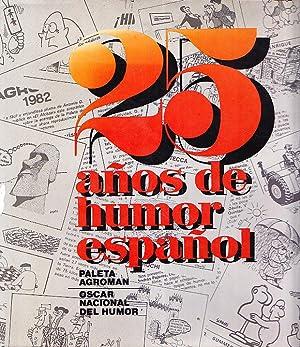 25 AÑOS DE HUMOR ESPAÑOL: Paleta Agroman