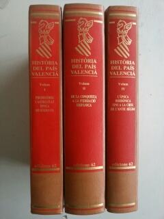 HISTORIA DEL PAIS VALENCIA - VOLUM I - II - IV: VV.AA.