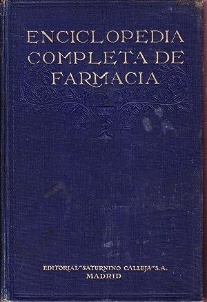 ENCICLOPEDIA COMPLETA DE FARMACIA - TOMOS SUELTOS: Josef Moeller - Hermann Thoms