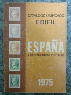 CATALOGO UNIFICADO ESPAÑA Y DEPENDENCIAS POSTALES 1975