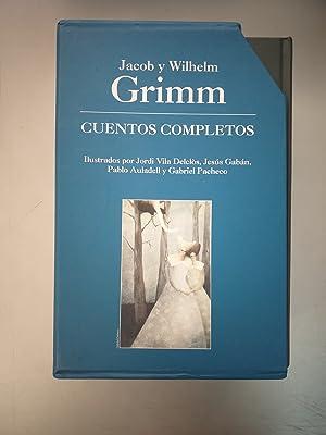 CUENTOS COMPLETOS DE GRIMM - 4 TOMOS: Jacob y Wilhelm Grimm