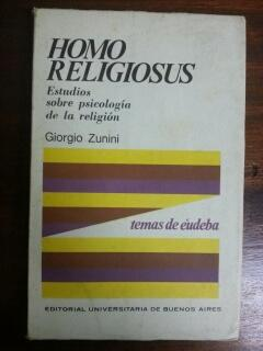 HOMO RELIGIOSUS: Giorgio Zunini