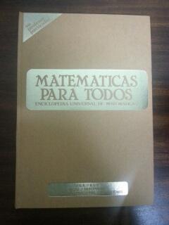 MATEMATICAS PARA TODOS - TOMO I: Vicente M. Zamalloa