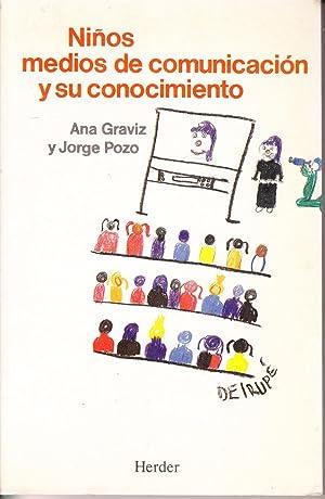 NIÑOS MEDIOS DE COMUNICACION Y SU CONOCIMIENTO: Ana Gravis y Jorge Pozo
