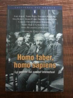 HOMO FABER, HOMO SAPIENS - LA GESTION: VV.AA. - Antoni