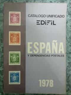 CATALOGO UNIFICADO DE ESPAÑA Y DEPENDENCIAS POSTALES 1978